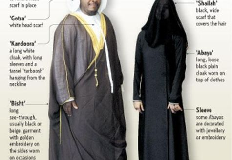 Emirati Traditional wear