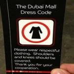dubai mall dress code