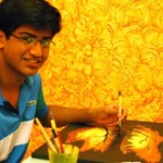 Keenan D'Abreo, Dubai teenager Art exhibition in Dubai for children with special needs