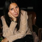 Russian Tennis Player and TV Celebrity Anastasia Myskina at Madinat Jumeirah