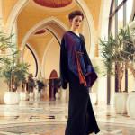 Maha Al Qattan redesigning traditional Abaya and Kaftan in UAE