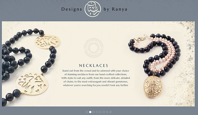 Ranya Arora Lebanese jewellery designer based in Dubai