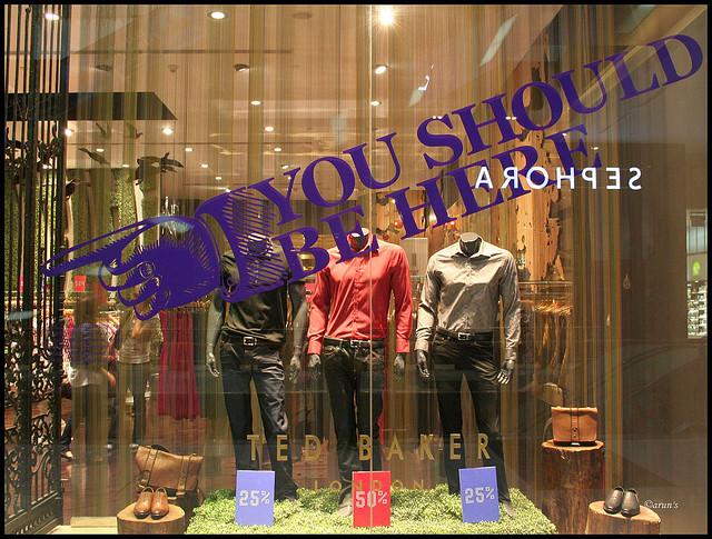 Dubai Mall window shopping