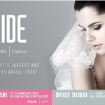 Bride announces dates for Abu Dhabi and Dubai 2014 events