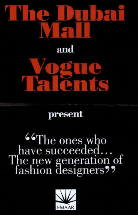 Dubai Mall Vogue Talents