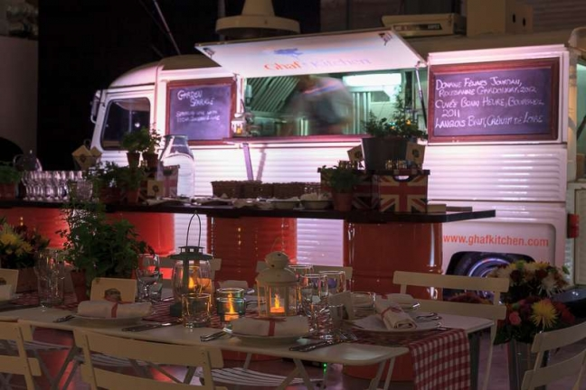 Ghaf Kitchen is the first Gourmet Restaurant On Wheels In Dubai