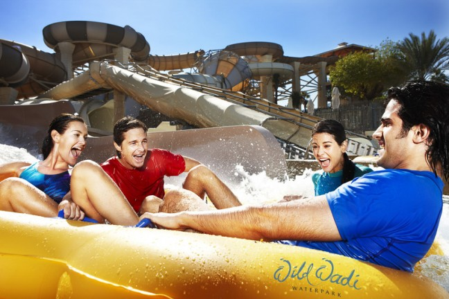 Wild wadi water park offers late night swim and dine deal for Beat hotel in dubai