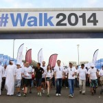 Abu Dhabi walks on the street for diabetes awareness