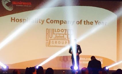 bulldozer group hospitality company of the year 2014