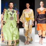 Nazek Al Sabbagh with her fashion collection
