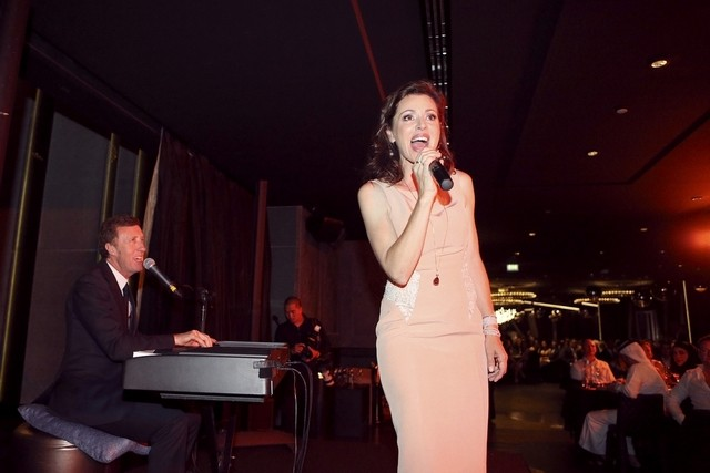 Australian singer-songwriter Tina Arena