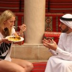 Wimbledon champion Petra Kvitova visited cultural Al Fahidi District in Bur Dubai