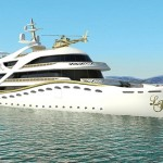 World's first female super luxury yacht La Belle, designed for women by a woman