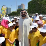 Sheikh Mohammed joins Let's Walk for Children Health