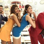 Dil Dharaknay Do team Ranveer, Anushka, Priyanka and Farhan in Dubai