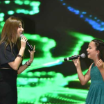 Nancy Ajram takes under her wing a little rising star!