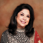 Indian celebrity designer Ritu Kumar unveils new collection in Dubai