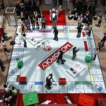 Giant Monopoly comes to the Mall of Emirates