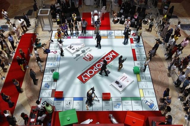 giant monopoly comes to Mall of Emirates Dubai