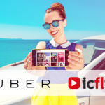 Icflix rewards first time subscribers a free ride with Uber partnership
