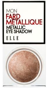 mettalic eye shadow elle