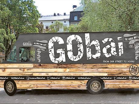 Gobai food truck in UAE