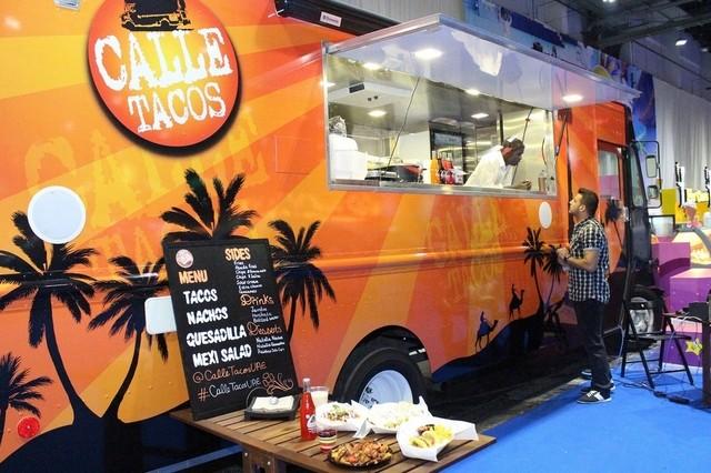 calle taco food truck dubai