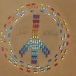 Pepsi Challenge Creates World's Largest Peace Sign In Dubai Desert