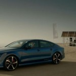 Audi RS7 Sportback Challenges Fastest Elevator in the World