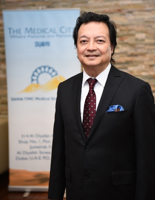 Dr Samuel Bernal, Chairman, Institute of Personalised Molecular Medicine, The Medical City