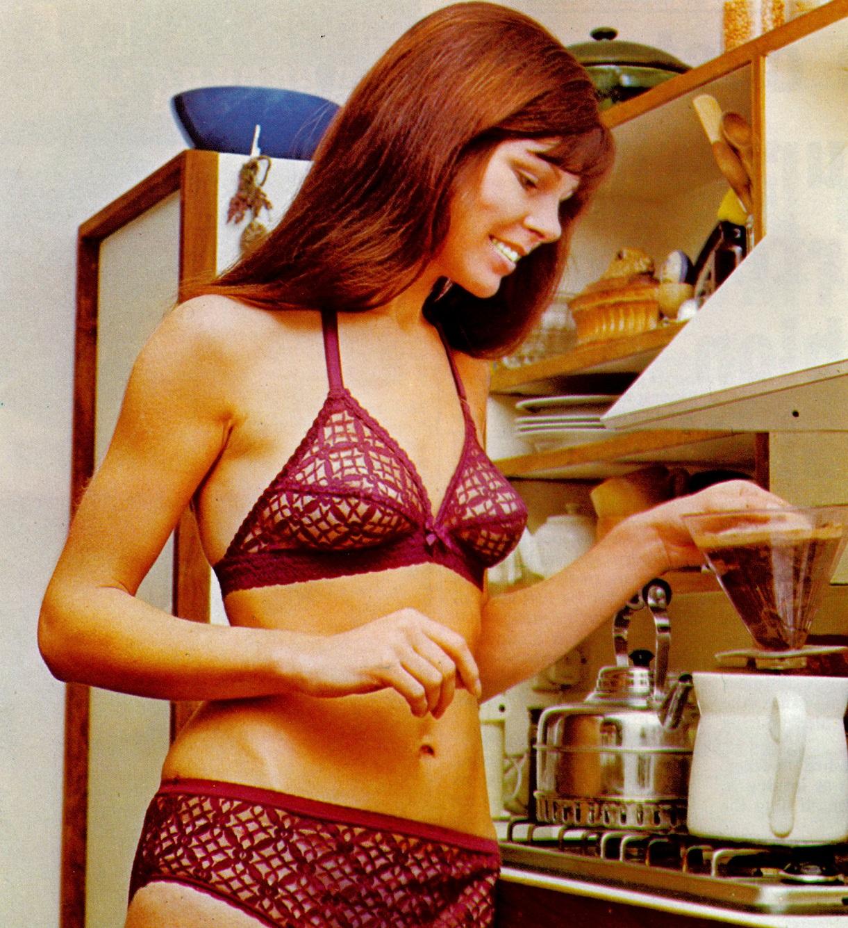Marks & Spencer- 1973 Trellis Lace Bra