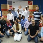 20 Boxes of Donations from AFG Employees to Emirates Red Crescent