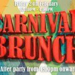 Carnival Fiesta at the Casa de Tapas & Cielo Sky Lounge!