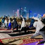 FULL MOON YOGA AT FAIRMONT THE PALM