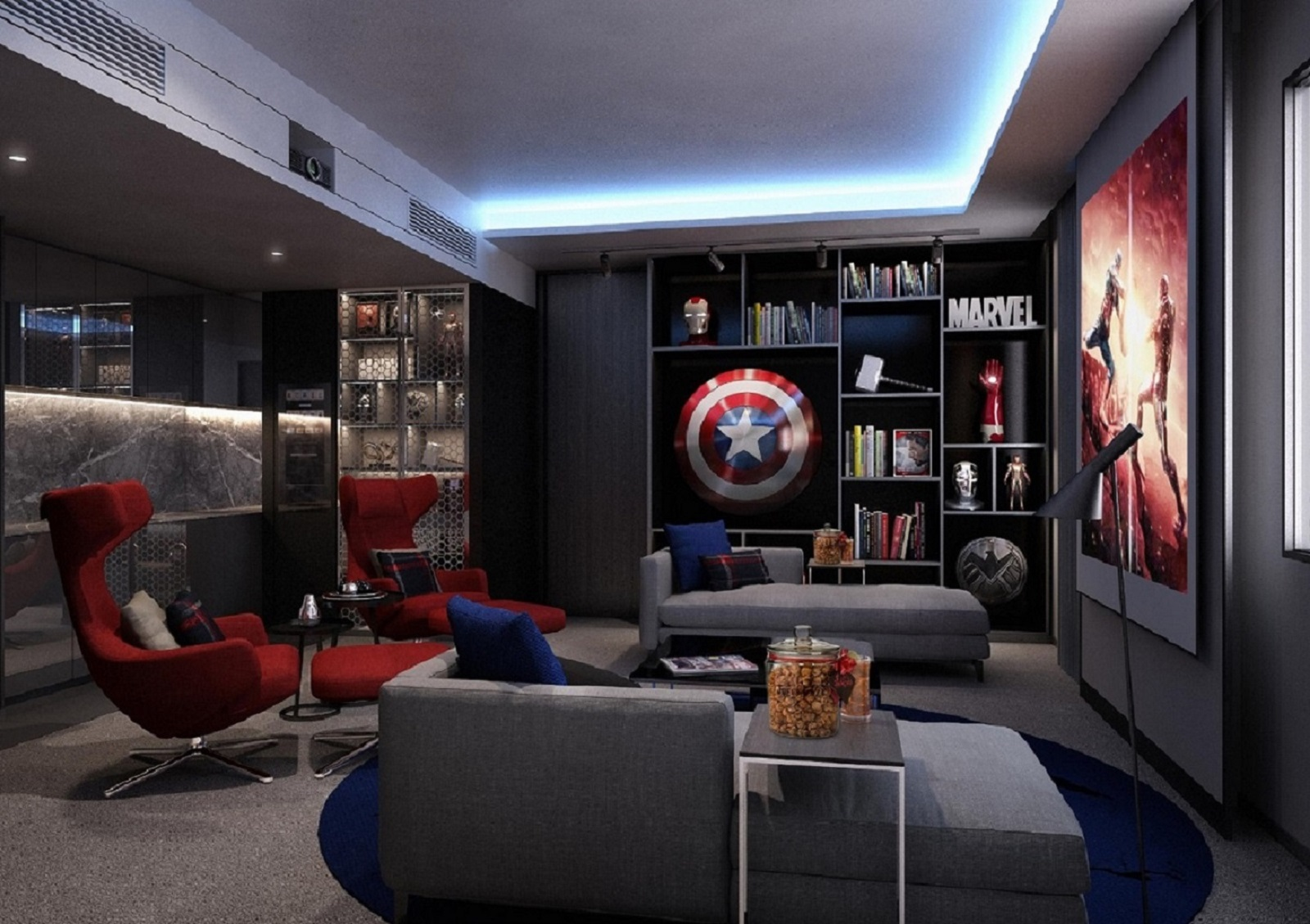 Movies  Party Rooms