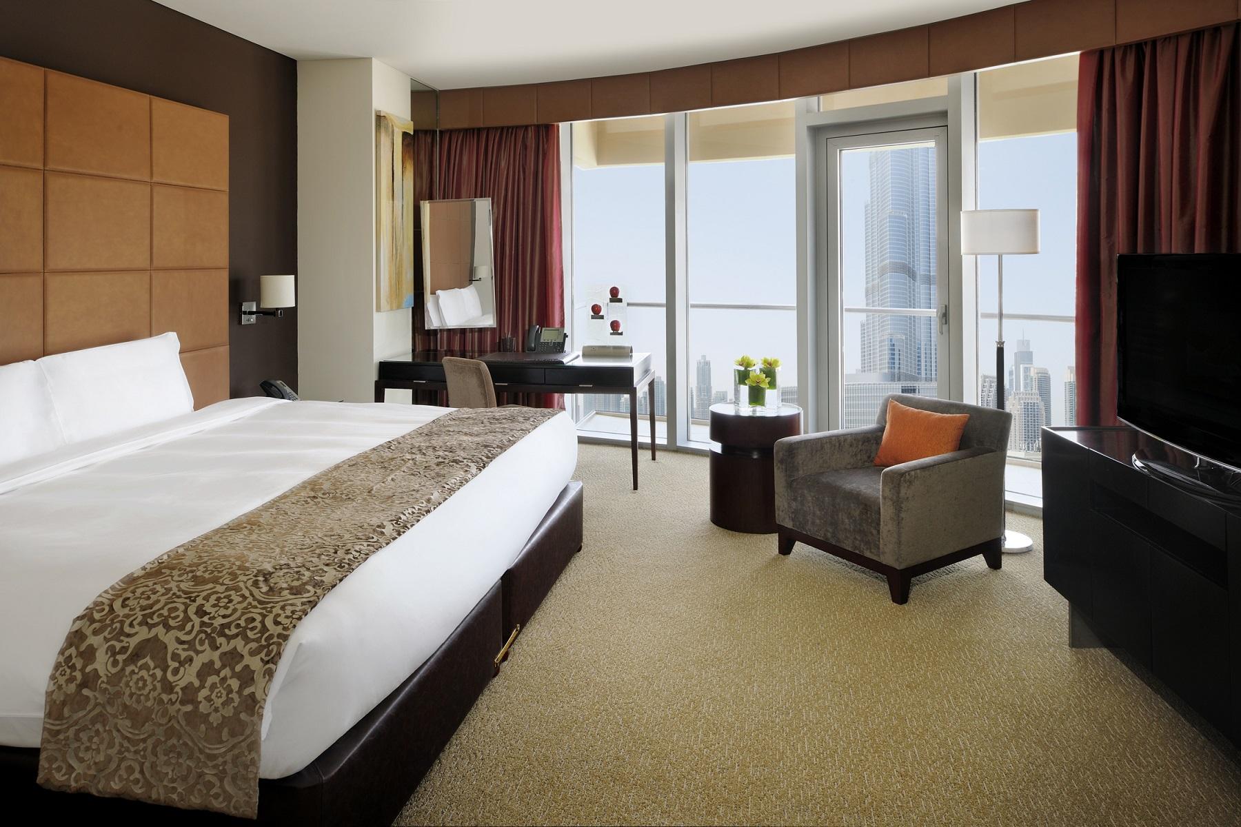 Celebrate togetherness at address hotels resorts Dubai burj khalifa rooms
