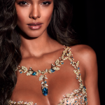 Lais Ribeiro Wows in Victoria's Secret's All-New Champagne Nights Fantasy Bra by Mouawad