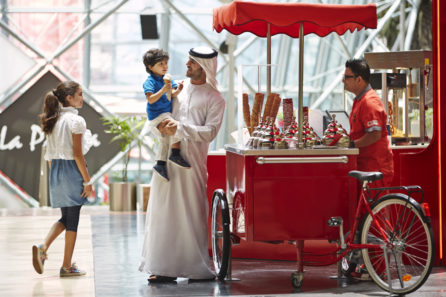 Ferrari World Abu Dhabi buckles up for a fairytale Winterfest thrill