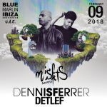 Misfits Society: Dennis Ferrer and Detlef at Blue Marlin Ibiza UAE