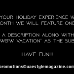 Here's your chance to be featured on the UAE Style Magazine!