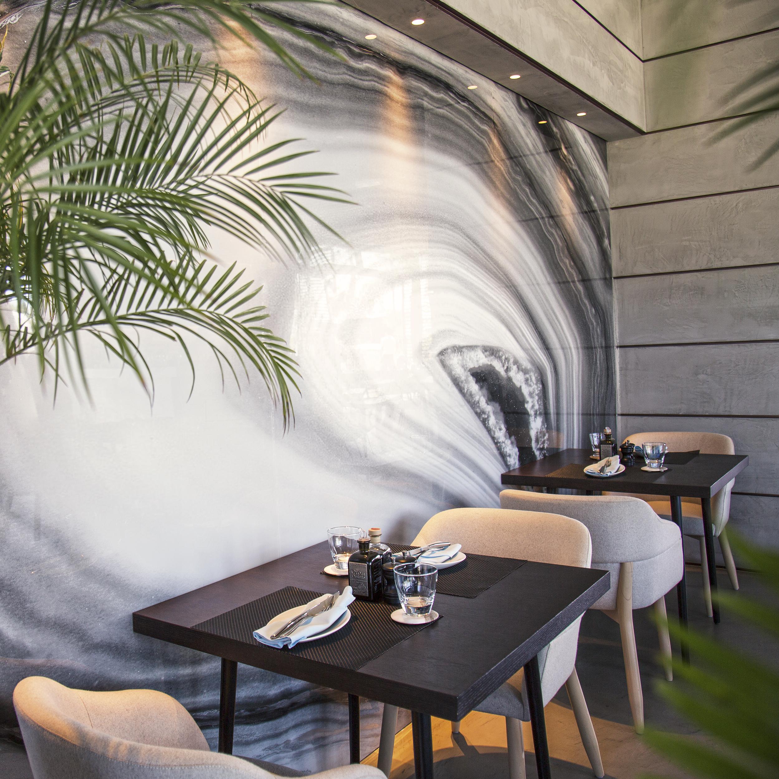 French-Mediterranean Café