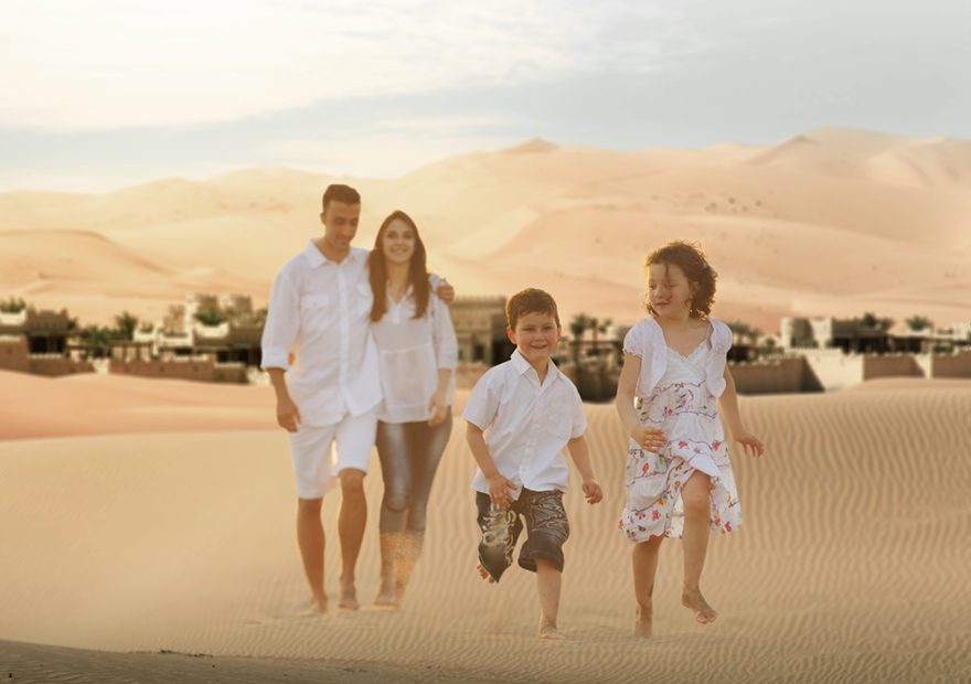 Happy family memories are made with fantastic perks for kids, wherever you choose to escape to with Anantara in Abu Dhabi.