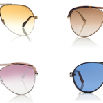 The Coolest Shades To Wear This Summer: Tom Ford's Translucent Sunglasses