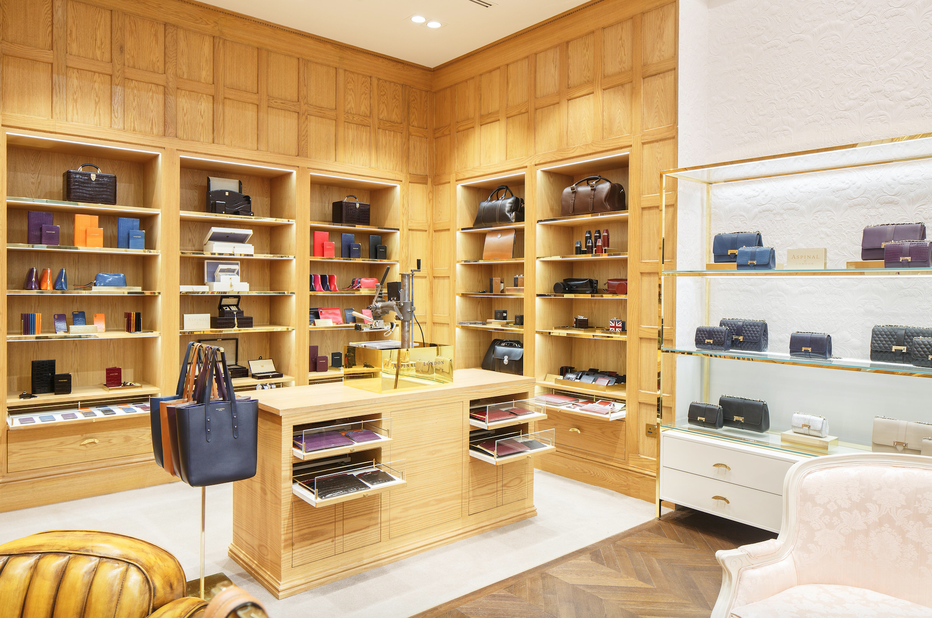 ASPINAL OF LONDON OPENED NEW STORE IN DUBAI MALL