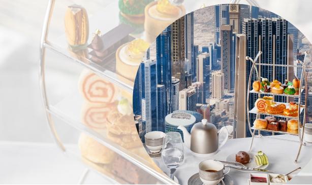 Contemporary Afternoon Tea at At.mosphere, Burj Khalifa