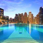 Dip and Dine at Infinity Pool and Shades, Address Dubai Marina