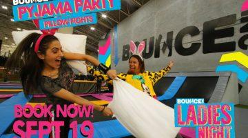 Bounce Abu Dhabi hosts pyjama party themed ladies' night