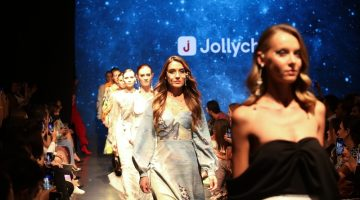 Jollychic fashion show at Dubai Fashion Days explores the fusion of fashion and technology