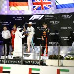 LEWIS HAMILTON WINS THE 10th EDITION OF THE FORMULA 1 ETIHAD AIRWAYS ABU DHABI GRAND PRIX