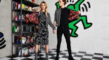 KEITH HARING X ALICE + OLIVIA COLLABORATION